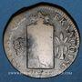 Monnaies Convention (1792-1793). 2 sols aux balances, type sans date