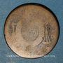 Monnaies Convention (1792-1795). 1/2 sol aux balances (1793 H). La Rochelle. Cuivre