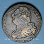 Monnaies Convention (1792-1795). 2 sols 1793AA. Metz. Type FRANCOIS