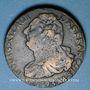 Monnaies Convention (1792-1795). 2 sols 1793AA. Metz. Type FRANCOIS