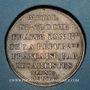 Monnaies Convention (1792-1795). Essai à l'effigie de Mirabeau