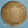 Monnaies Convention (1792-1795). Sol aux balances 1793 BB. Strasbourg. Métal de cloche
