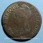Monnaies Directoire (1795-1799). 5 centimes an 5BB. Strasbourg