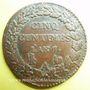 Monnaies Directoire (1795-99), 5 centimes an 7A