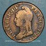 Monnaies Directoire & Consulat. 5 centimes an 8AA Metz
