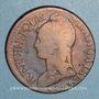 Monnaies Directoire & Consulat. 5 centimes an 9BB. Strasbourg