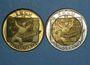 Monnaies Ecu des Villes. Strasbourg. 1 et 5 ecu 1995