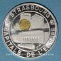 Monnaies Ecu des Villes. Strasbourg. 25 ecu 1994