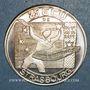 Monnaies Ecu des Villes. Strasbourg. 25 ecu 1995. Argent