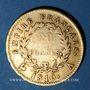 Monnaies 1er empire (1804-1814). 20 francs tête laurée, EMPIRE, 1810A. (PTL 900‰. 6,45 g)