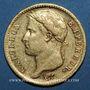 Monnaies 1er empire (1804-1814). 20 francs tête laurée, REPUBLIQUE, 1808A. (PTL 900‰. 6,45 g)