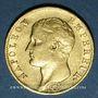 Monnaies 1er empire (1804-1814). 20 francs tête nue 1806A. 900 /1000. 6,45 gr