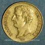 Monnaies 1er empire (1804-1814). 20 francs tête nue an 12 A. (PTL 900‰. 6,45 g)