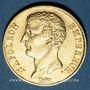 Monnaies 1er empire (1804-1814). 20 francs tête nue an 12A. (PTL 900‰. 6,45 g)