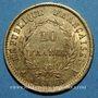 Monnaies 1er empire (1804-1814). 20 francs tête nue, type provisoire, 1807A. (PTL 900‰. 6,45 g)
