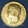 Monnaies 1er empire (1804-1814). 40 francs tête laurée, EMPIRE, 1811A. 900 /1000. 12,90 gr