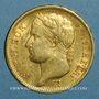 Monnaies 1er empire (1804-1814). 40 francs tête laurée, EMPIRE, 1811A. (PTL 900‰. 12,90 g)