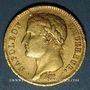Monnaies 1er empire (1804-1814). 40 francs tête laurée EMPIRE 1811A. Tr. EU PROTEGE... . (PTL 900‰. 12,90 g)