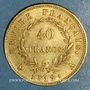 Monnaies 1er empire (1804-1814). 40 francs tête laurée EMPIRE 1812A. (PTL 900 /1000. 12,90 gr)