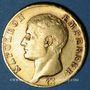 Monnaies 1er empire (1804-1814). 40 francs tête nue, date grégorienne, 1806U, Turin. (PTL 900‰. 12,90 g)