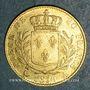 Monnaies 1ère restauration. 20 francs buste habillé 1814A. (PTL 900‰. 6,45 g). Type avec 4 moyen