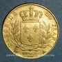 Monnaies 1ère restauration. 20 francs buste habillé 1814A. (PTL 900 /1000. 6,45 g). Type avec 4 court