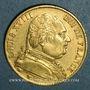 Monnaies 1ère restauration. 20 francs buste habillé 1814A. (PTL 900/1000. 6,45 g). Type avec 4 moyen