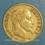 Monnaies 2e empire (1852-1870). 10 francs Napoléon III tête laurée 1866BB. Strasbourg. (PTL 900‰. 3,22 g)