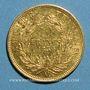 Monnaies 2e empire (1852-1870). 10 francs tête nue 1854A. Petit module, tranche cannelée. 900 /1000. 3,22 gr.