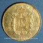 Monnaies 2e empire (1852-1870). 100 francs, Napoléon III, tête laurée 1866A. 900 /1000. 32,25 gr