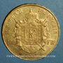 Monnaies 2e empire (1852-1870). 100 francs Napoléon III tête laurée 1868A. (PTL 900 /1000. 32,25 g)