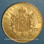 Monnaies 2e empire (1852-1870). 100 francs Napoléon III tête laurée 1869 BB. Strasbourg. (PTL 900‰. 32,25 g)