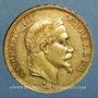 Monnaies 2e empire (1852-1870). 100 francs Napoléon III tête laurée 1869A. (PTL 900 /1000. 32,25 g)