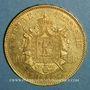 Monnaies 2e empire (1852-1870). 100 francs Napoléon III tête nue 1855A. (PTL 900 /1000. 32,25 gr)