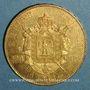 Monnaies 2e empire (1852-1870). 100 francs Napoléon III tête nue 1858A. (PTL 900 /1000. 32,25 gr)