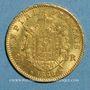 Monnaies 2e empire (1852-1870). 20 francs Napoléon III tête laurée 1866BB. Strasbourg. (PTL 900/1000. 6,45 g)