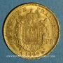 Monnaies 2e empire (1852-1870). 20 francs Napoléon III tête laurée 1868 A. (PTL 900‰. 6,45 g)