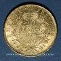 Monnaies 2e empire (1852-1870). 20 francs Napoléon III tête nue 1854A. (PTL 900/1000. 6,45 g)