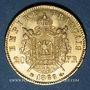 Monnaies 2e empire (1852-1870). 20 francs tête laurée 1866BB. Strasbourg. 900 /1000. 6,45 gr