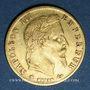 Monnaies 2e empire (1852-1870). 5 francs, Napoléon III, tête laurée 1867BB Strasbourg. 900 /1000. 1,612 gr