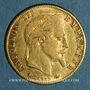 Monnaies 2e empire (1852-1870). 5 francs Napoléon III tête laurée 1868 A. (PTL 900‰. 1,612 g)