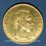 Monnaies 2e empire (1852-1870). 5 francs tête nue 1856A. Grand module. 900 /1000. 1,612 gr
