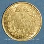 Monnaies 2e empire (1852-1870). 5 francs tête nue 1859A. (PTL 900‰. 1,612 g)
