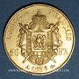 Monnaies 2e empire (1852-1870). 50 francs, Napoléon III, tête nue 1856A. 900 /1000. 16,12 gr