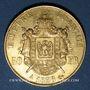 Monnaies 2e empire (1852-1870). 50 francs, Napoléon III, tête nue 1858A. 900 /1000. 16,12 gr