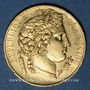 Monnaies 2e république (1848-1852). 20 francs Cérès 1849A, millésime serré. 900 /1000. 6,45 gr