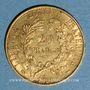 Monnaies 2e république (1848-1852). 20 francs Cérès 1851A. (PTL 900 /1000. 6,45 gr)
