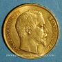 Monnaies 2e république (1848-1852). 20 francs Louis Bonaparte 1852 A. (PTL 900‰. 6,45 g)