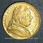 Monnaies 2e restauration. Louis XVIII (1815-1824). 20 francs buste habillé 1815 A. (PTL 900 /1000. 6,45 g)