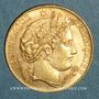 Monnaies 3e république (1870-1940). 10 francs Cérès 1896A. (PTL 900‰. 3,22 g)